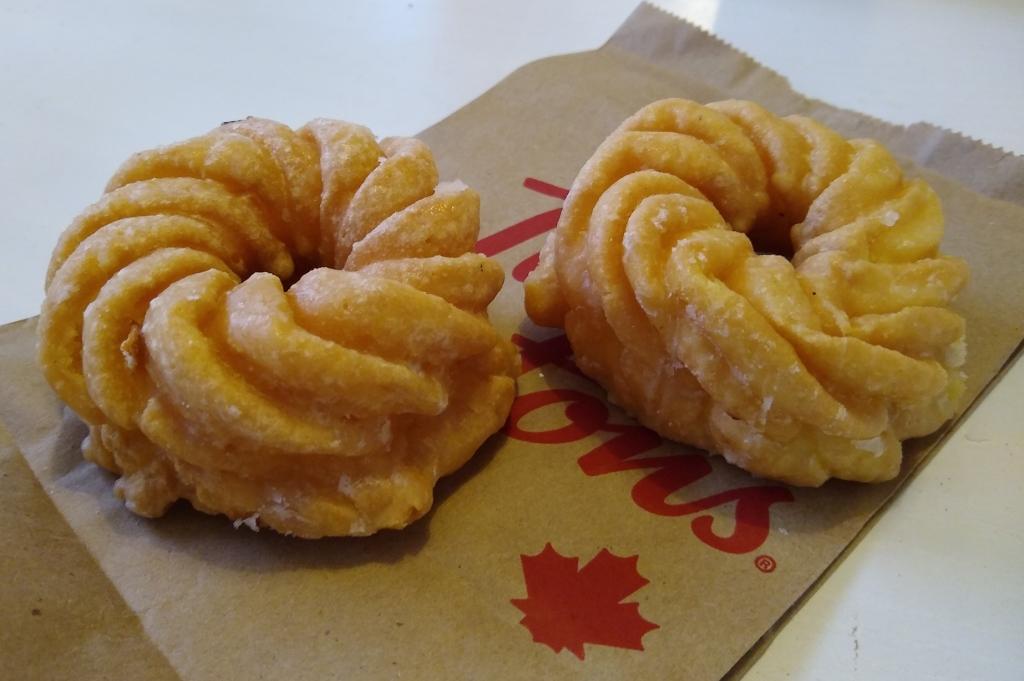 Cruller doughnuts